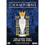 Leicester City Football Club Premier League Champions 2015/16 Official Season Review DVD
