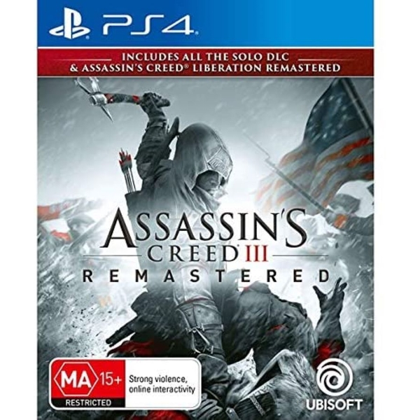 Assassin's Creed III Remastered & Liberation Remastered PS4 Game