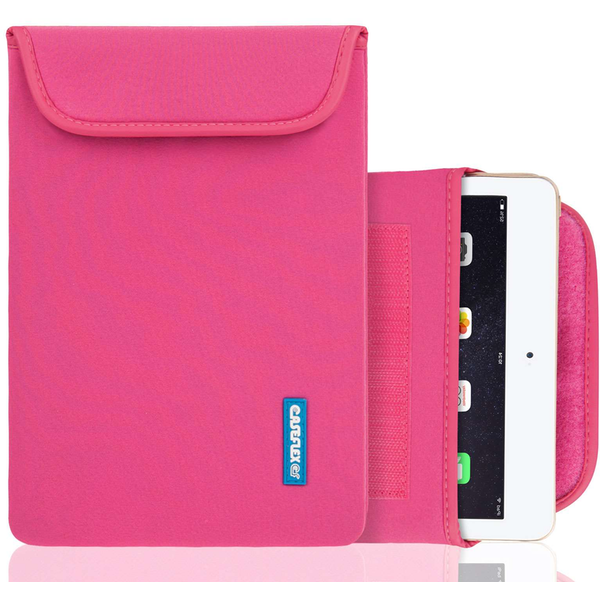 Caseflex iPad Air Neoprene Pouch (M) - Hot Pink