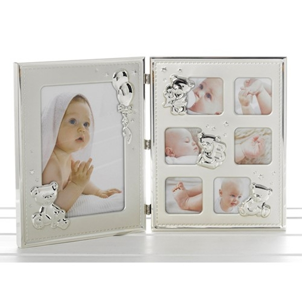 Two Tone Teddy Double Frame 7 Pictures