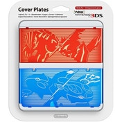 New Nintendo 3DS Cover Plates Pokemon Ruby/ Sapphire Faceplate (Damaged Packaging) Used - Like New