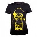 Star Wars VII The Force Awakens Adult Male Kylo Ren Yellow Face XX-Large T-Shirt