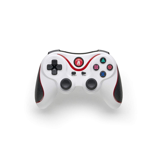 Spartan Gear White PS3 Wireless Controller