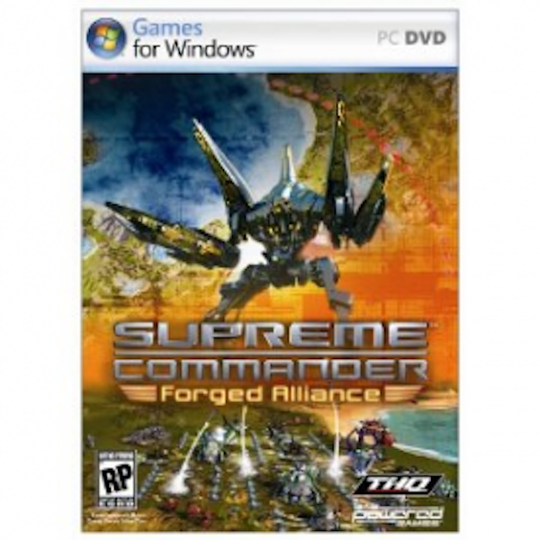 Supreme Commander Forged Alliance Game PC