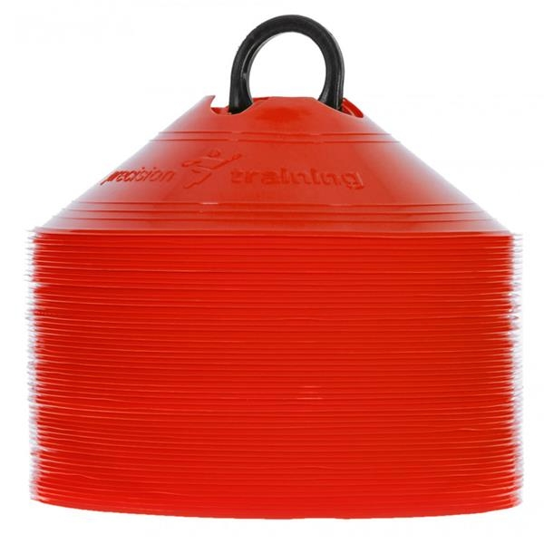 Precision Saucer Cones (Set of 50) - Red