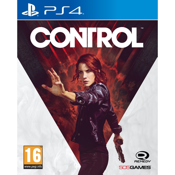 Control PS4 Game (with Exclusive PS4 Content)