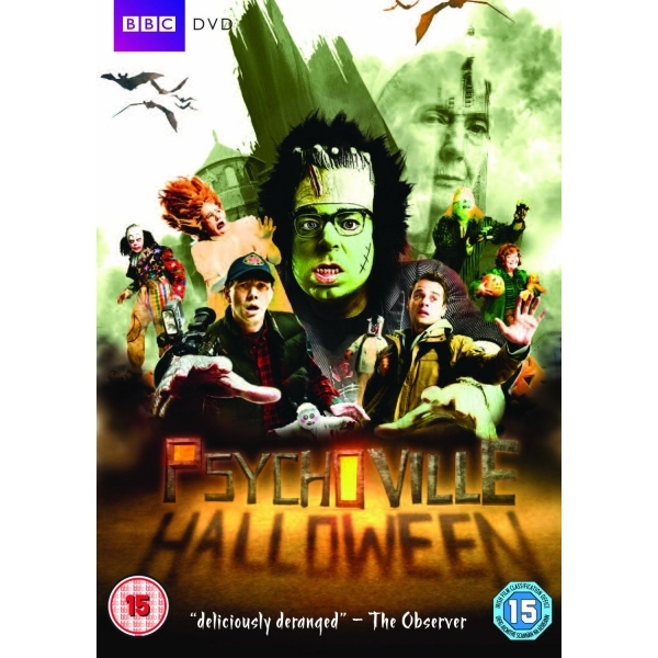 Psychoville Halloween Special DVD