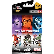 (Damaged Packaging) Disney Infinity 3.0 Toy Box Takeover Piece