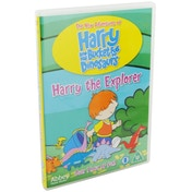 Harry The Explorer: Harry & His Bucket Full of Dinosaurs DVD