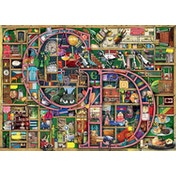 Colin Thompson Awesome Alphabet C & D Jigsaw Puzzle - 1000 Pieces