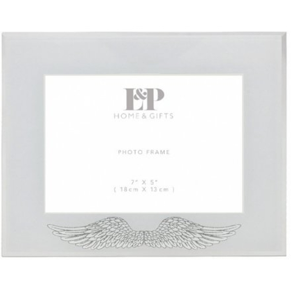 Glitter Wings Picture Frame 26cm