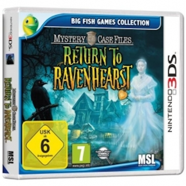 Mystery Case Files Return to Ravenhearst 3DS Game