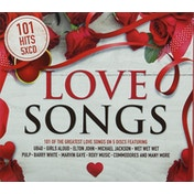 101 Songs Love CD
