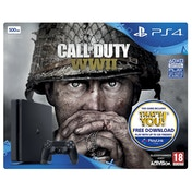PS4 500GB Console Call of Duty WWII Bundle