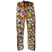 The Simpsons 'Comic Strip' Loungepants Large One Colour