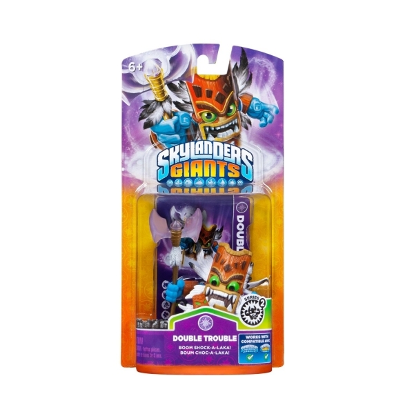 Series 2 Double Trouble (Skylanders Giants) Magic Character Figure