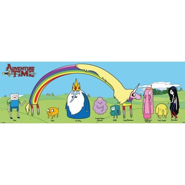 Adventure Time Door Poster