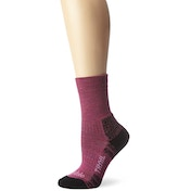 Bridgedale Women's Woolfusion Trail Socks, Berry - Medium