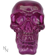 Purple Brain Skull