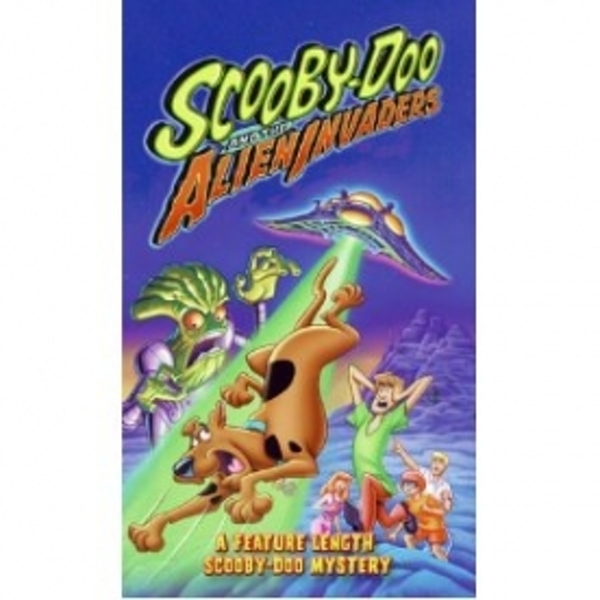 Hey! Stay with us... Scooby Doo The Alien Invaders DVD 710cb013e