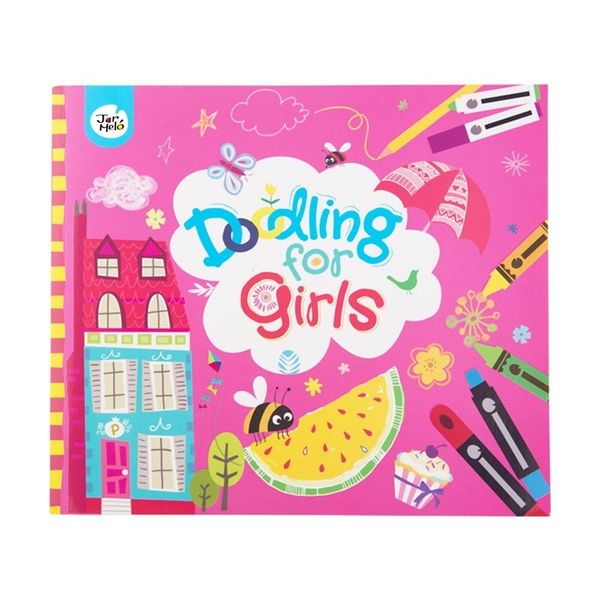 Doodling for girls Book