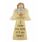 I Love You Angel (Pack Of 4) Ornaments