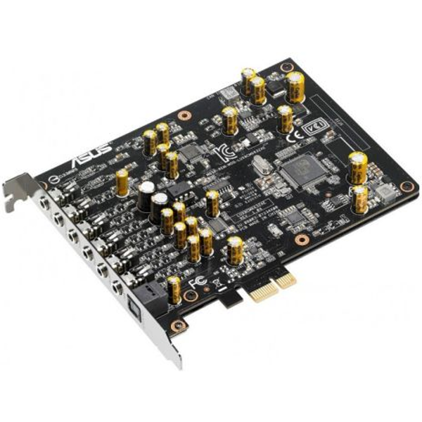 Asus Xonar AE Soundcard, PCIe,  7.1, Hi-Res Audio, 150ohm Headphone Amp, HQ DAC, EMI Back Plate