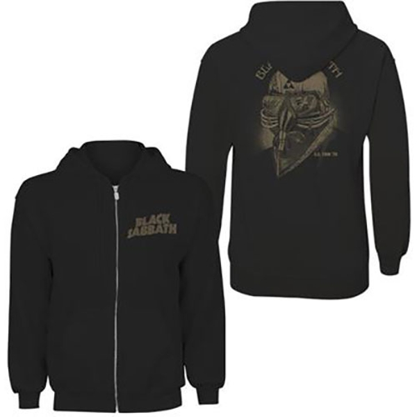 Black Sabbath - Tour 1978 Ladies X-Small Hoodie - Black