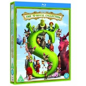 Shrek/Shrek 2/Shrek The Third/Shrek Forever After The Final Blu-ray