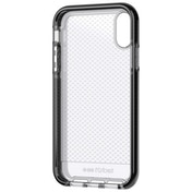 Tech21 Evo Check mobile phone case 15.5 cm (6.1 inch) Cover Black Transparent