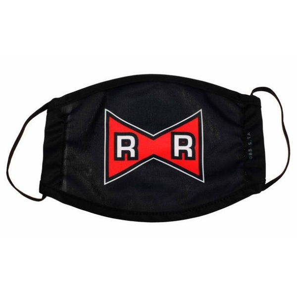 Image of Dragon Ball Z Logo Red Ribbion Face Mask