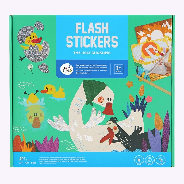 The Ugly Duckling Flash Stickers Set