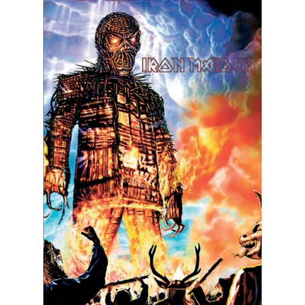 Iron Maiden - Wicker Man Postcard