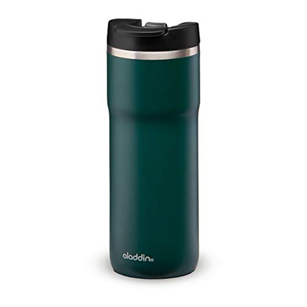 Aladdin Java Thermavac Leak-Lock Stainless Steel Mug 0.47L Basil Green