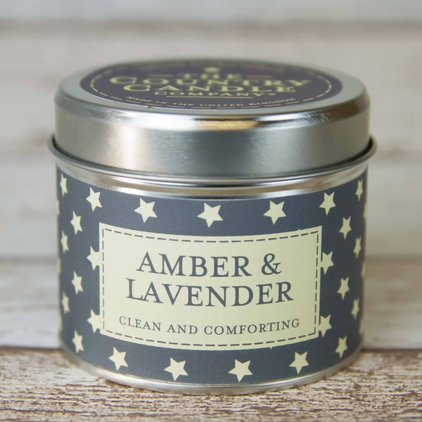 Amber & Lavender (Superstars Collection) Tin Candle