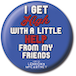 Lyrics by Lennon & McCartney - With A Little Help From My Friends Badge - Image 2