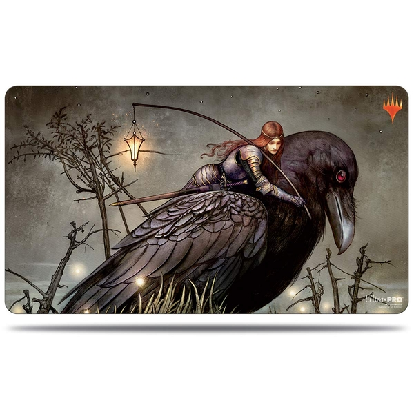 Ultra Pro Magic The Gathering: Throne of Eldraine Raven Order of Midnight Playmat