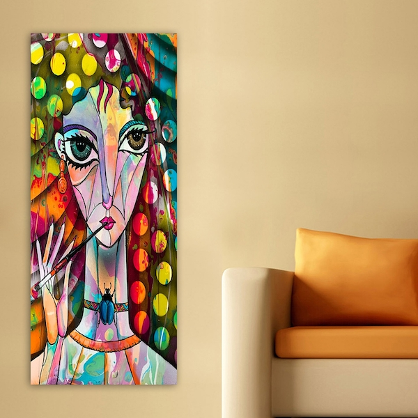 DKY21548363803_50120 Multicolor Decorative Canvas Painting