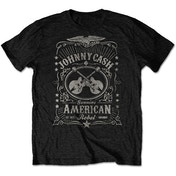Johnny Cash - American Rebel Men's X-Large T-Shirt - Black