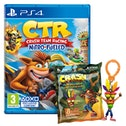 Crash Team Racing Nitro Fueled PS4 Game + Back Pack Hanger (Inc DLC)