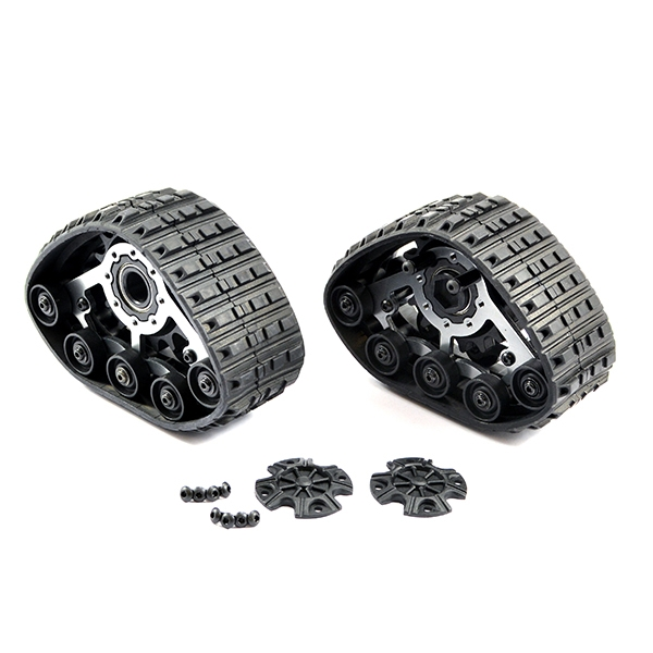 Ftx Fury 1:10 Crawler Front Snow/Sand Tracks (12Mm Hex)