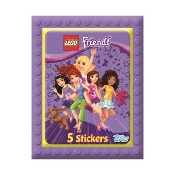 Lego Friends Sticker Collection (50 Packs)