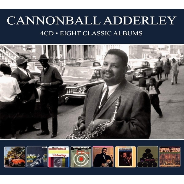Cannonball Adderley - Eight Classic Albums CD
