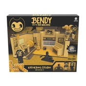 K'NEX Collector Bendy and the Ink Machine Recording Studio Scene Set
