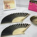 Japanese Bamboo Folding Fans - Pack of 10 | Pukkr - Image 6