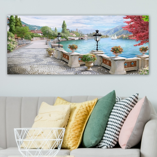 YTY1467158057_50120 Multicolor Decorative Canvas Painting