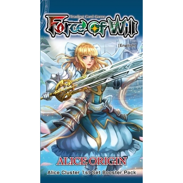 Force Of Will TCG Alice Origin Booster Box (20 Packs)