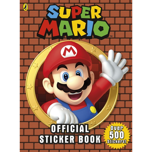 Super Mario: Official Sticker Book: Over 500 Stickers Paperback - 4 Jan. 2018
