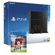 PlayStation 4 C-Chassis (500GB) Black Console + FIFA 16