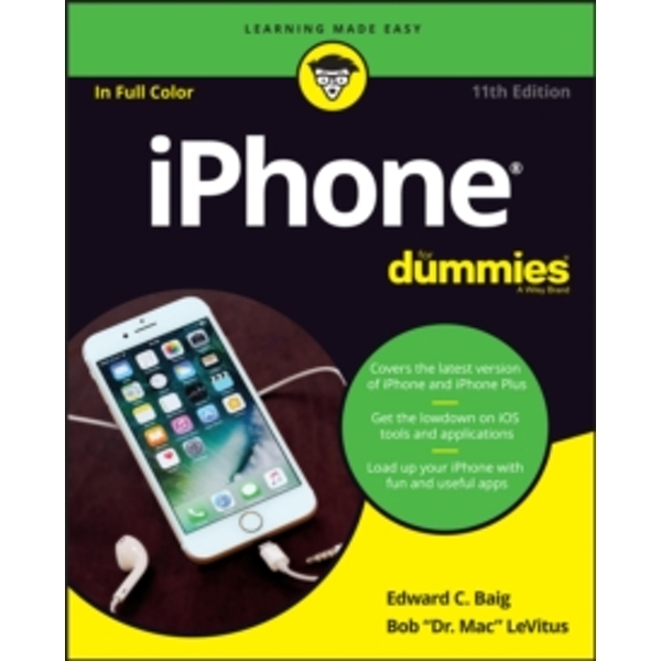 Iphone for Dummies, 11th Edition by Edward C. Baig, Bob LeVitus (Paperback, 2017)